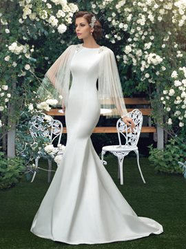 Ericdress Beading Mermaid Wedding Dress