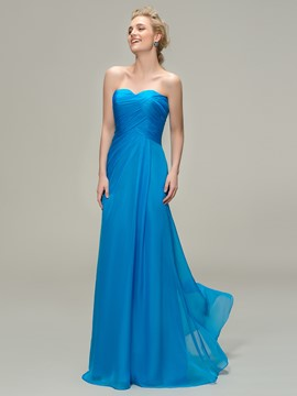 Ericdress Charming A-line Sweetheart Long Bridesmaid Dress