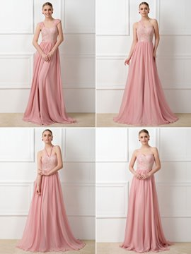Ericdress Lace Convertible Bridesmaid Dress