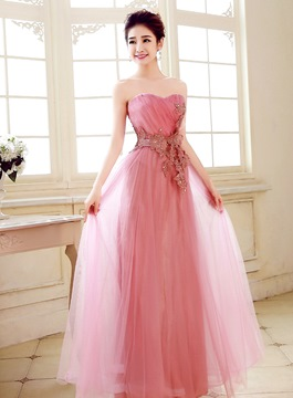 ericdress superb schatz appliques in voller länge prom kleid