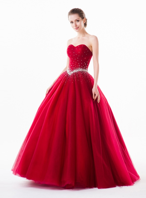 Concise A-Line Sweetheart Quinceanera Dress