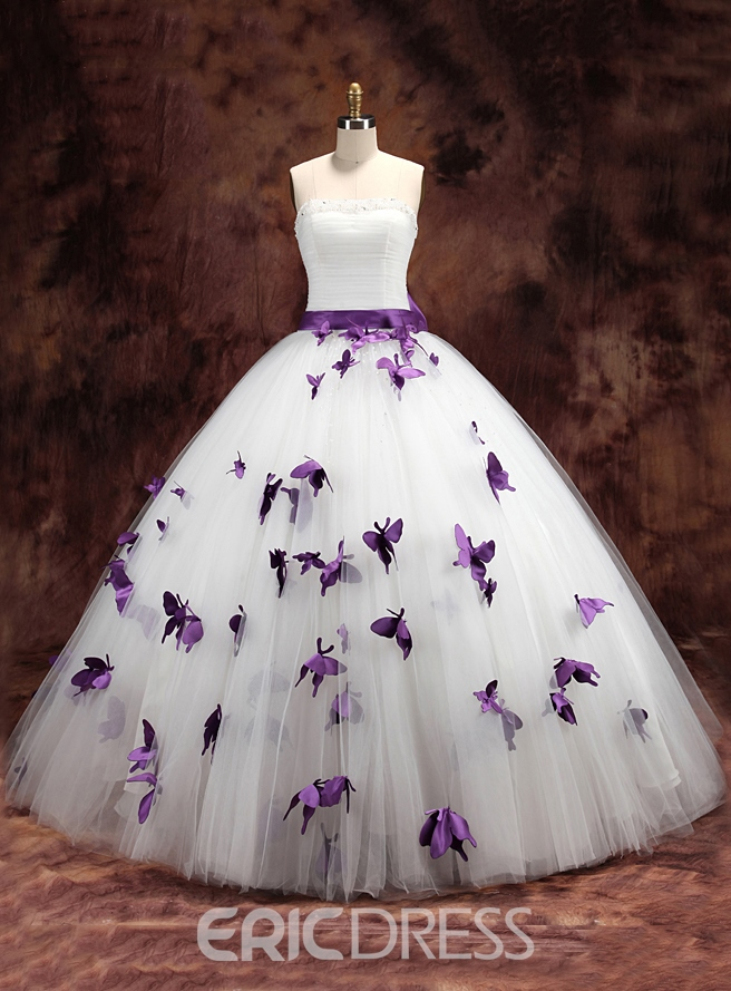 Ericdress charmante Riemen Schmetterling Ballkleid Brautkleid