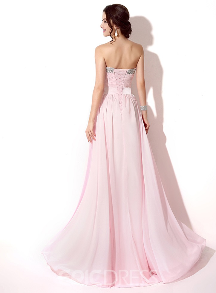 Ericdress A-Line Long Prom Dress With Beadings