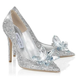 Ericdress Point Toe Beads Rhinestone Stilettos Wedding Shoes