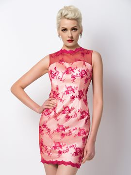 Ericdress Exquisite Appliques Sheath Cocktail Dress