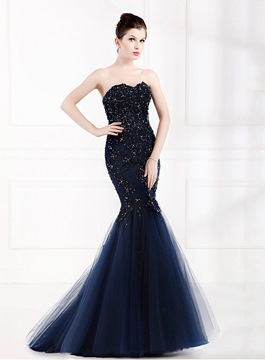 Ericdress Amazing Sequins Long Mermaid Evening Dress
