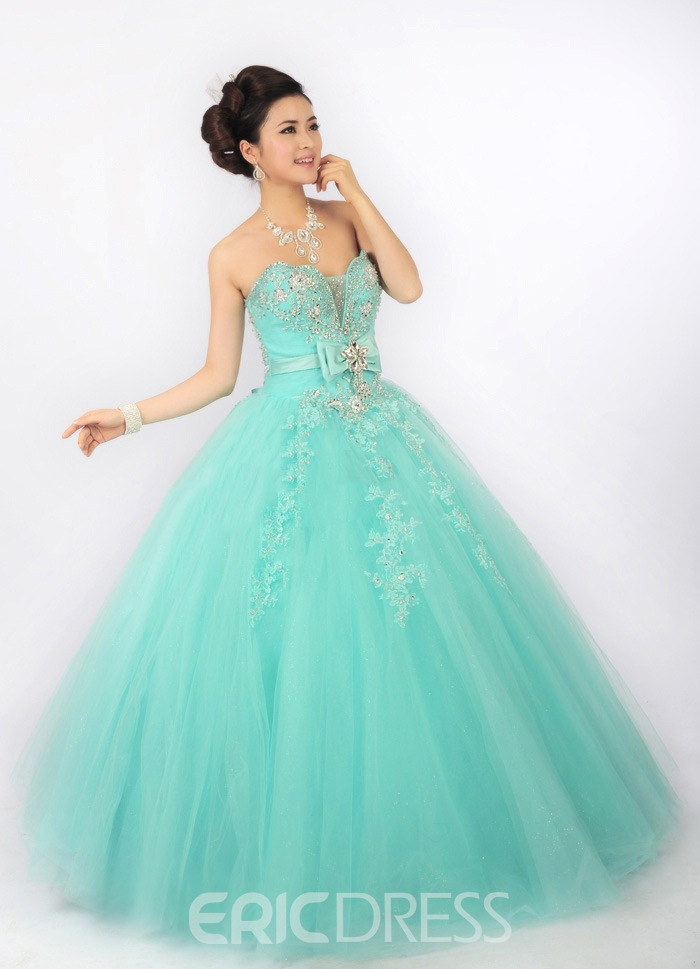 Ericdress Beauteous Sweetheart Bowknot Ball Gown Quinceanera Dress