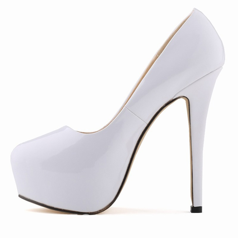 High-quality Solid Color Stiletto Pumps