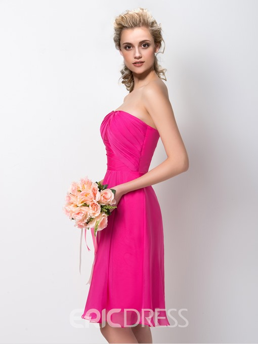 Ericdress Pretty Sweetheart A-Line Knee Length Bridesmaid Dress