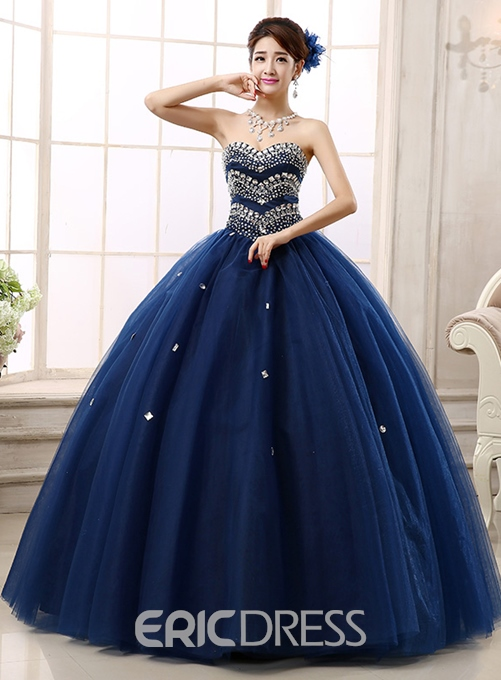 Ericdress Amazing Sweetheart Beading A-Line Lace-up Quinceanera Dress