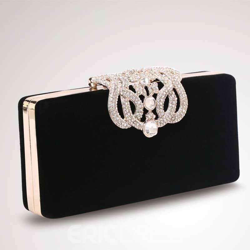 Ericdress Rhinestone Decorated Clutch/Evening Bag