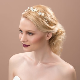 Ericdress Amazing Flowers Pearls Headwear