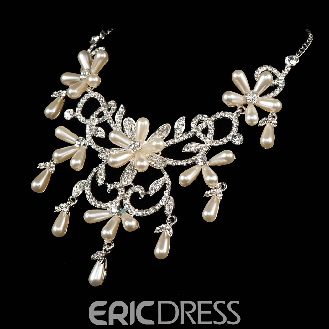 Ericdress Pretty Alloy Jewelry Set (Including Necklace and Earrings)