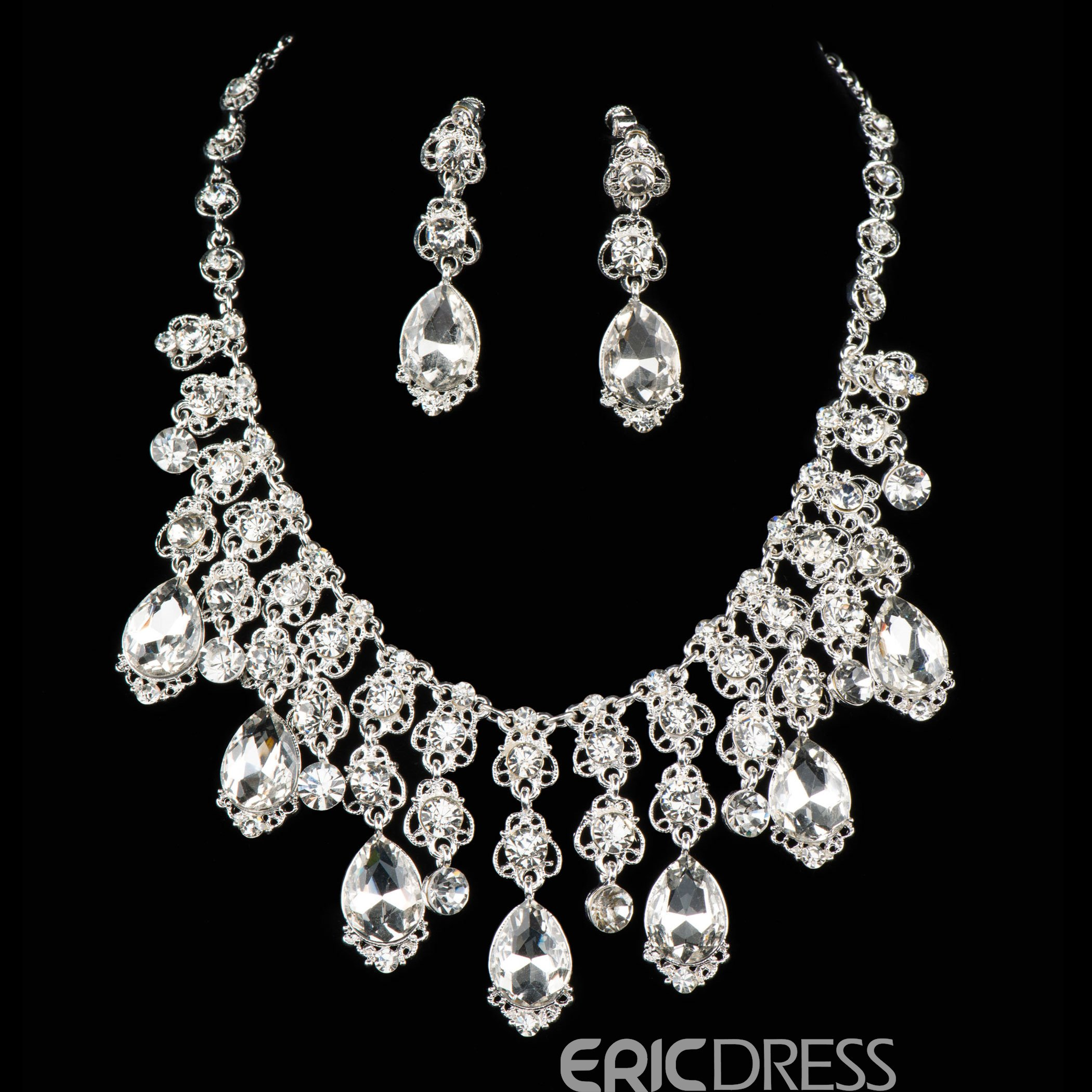 Ericdress Shining Cystal Jewelry Set