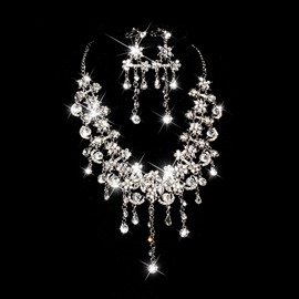 Ericdress Amazing Rhinestone Wedding Jewelry Set