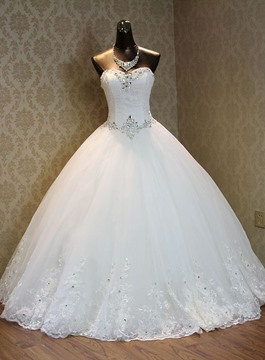 Ericdress Pretty Sweetheart Ball Gown Wedding Dress