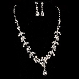 Ericdress Exquisite Rhinestone Wedding Jewelry Set