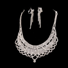 Ericdress Charming Alloy Wedding Jewel Set