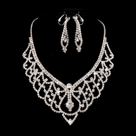 Ericdress Pretty Alloy Wedding Jewelry Set