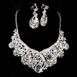 Ericdress Charming Rhinestone Wedding Jewelry Set