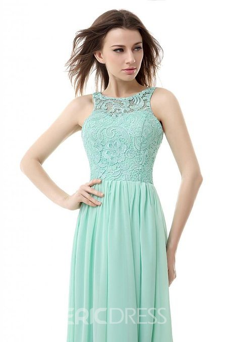 Ericdress Spectacular Open back Long Lace Prom Dress