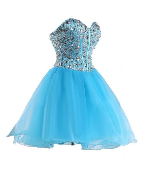 Ericdress Glamorous Sweetheart A-Line Beaded Short Homecoming Dress