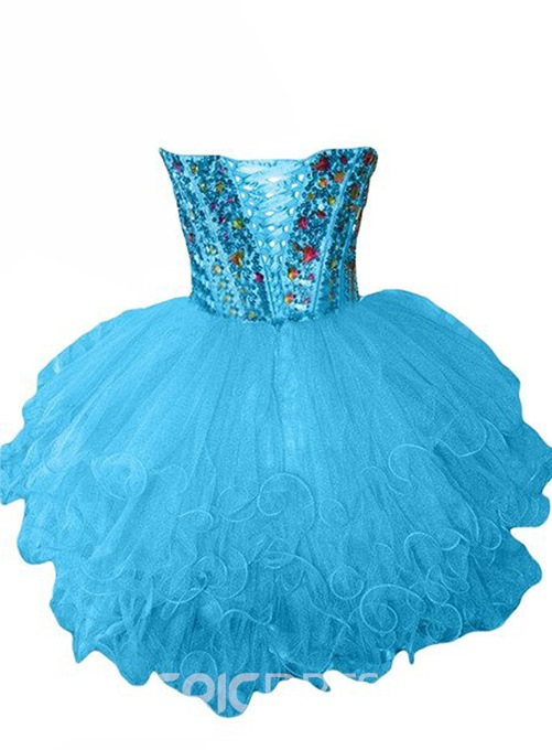 Ericdress Admirable Beaded A-Line Homecoming Dress