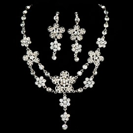 Ericdress Amazing Rhinestone Wedding Jewel Sets