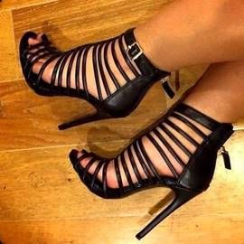 Sexy Hollow-outs Stiletto Sandals