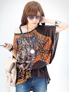 Ericdress Meryl Special Sunflower Blouse