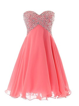 Ericdress Shinning Sweetheart perles robe lacets Homecoming court