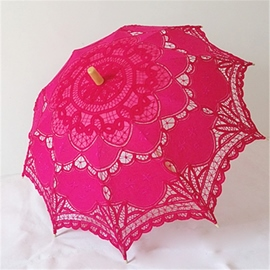 Ericdress High Quality Handmade Rose Umbrella
