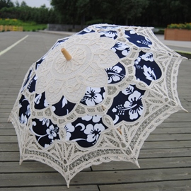 Ericdress Beautiful Wedding Umbrella