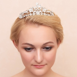 Ericdress Charming Rhinestone Pearls Wedding Tiara