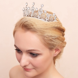 Ericdress Amazing Costly diamond Wedding Tiara