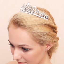 Ericdress Amazing Alloy Rhinestone Wedding Tiara