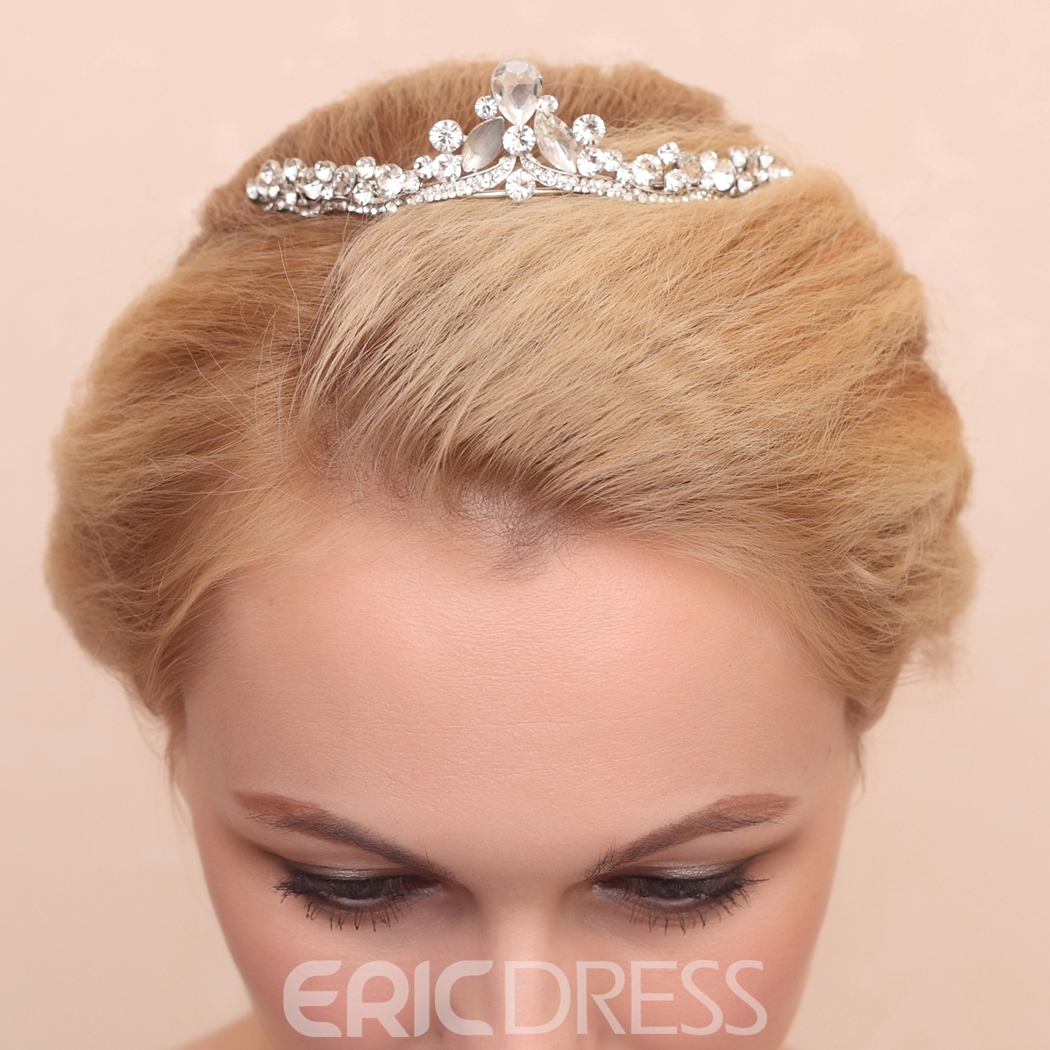 Ericdress Comely Csytal Wedding Tiara