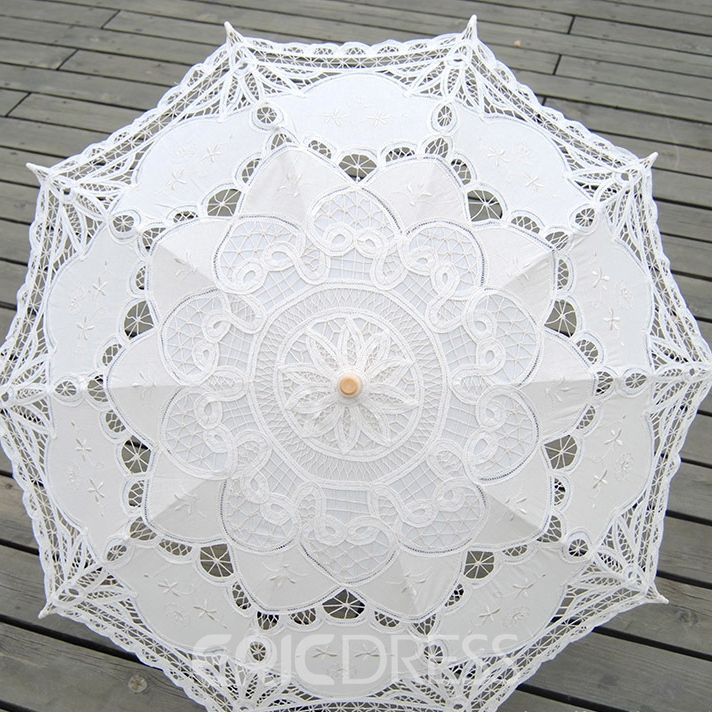 Ericdress Beautiful Handmade Wedding Umbrella