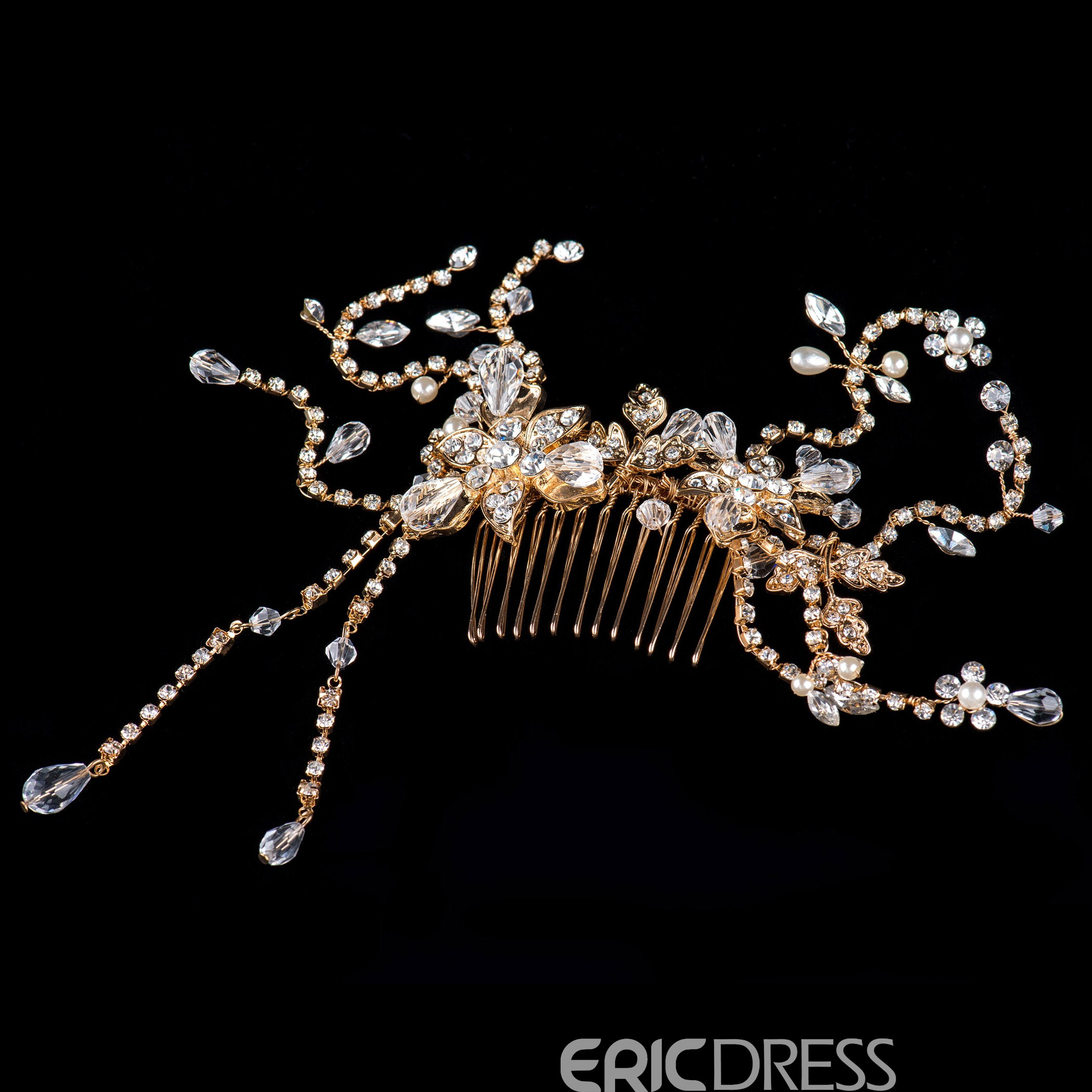 Ericdress Unique Alloy Beading Comb