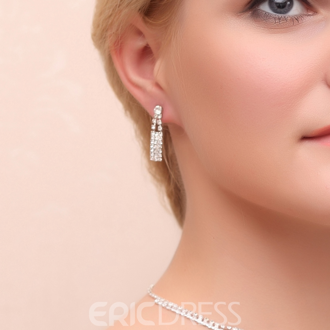 Ericdress Unique Alloy Jewel Set including earring and necklace