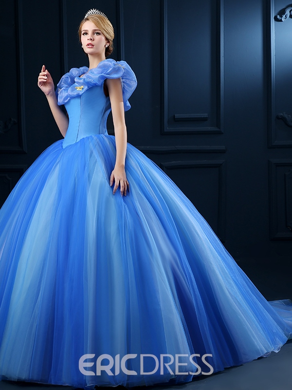 Ericdress Appliques Off-The-Shoulder Ball Gown Quinceanera Dress