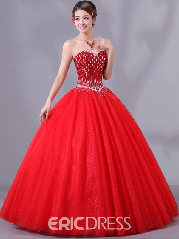 Ericdress Honorable Sweetheart Ball Gown Long Quinceanera Dress