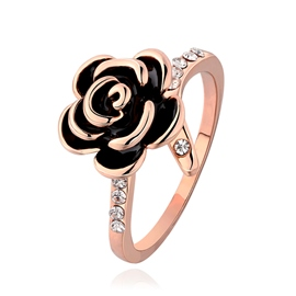 Charming Flower Decorated Ring