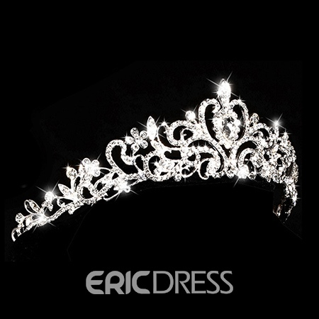 Ericdress Charming Cystal Alloy Wedding Tiara