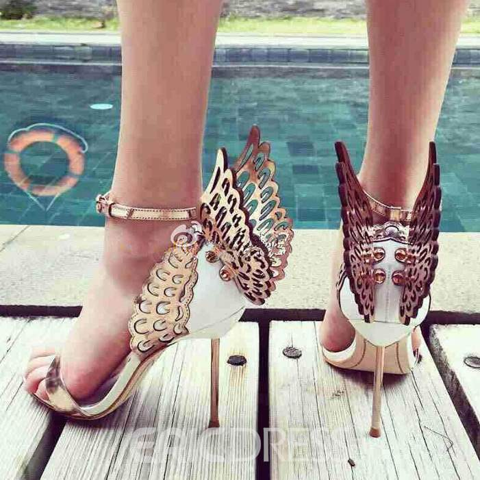Dreaming Butterfly Stiletto Sandals