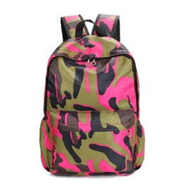 Ericdress Casual Camouflage Pattern Backpacks