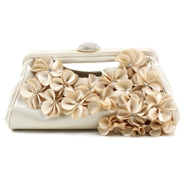 Ericdress Amazing Floral Embellished Evening Clutches
