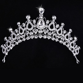 Ericdress Cheap Alloy Rhinestone Bridal Tiara
