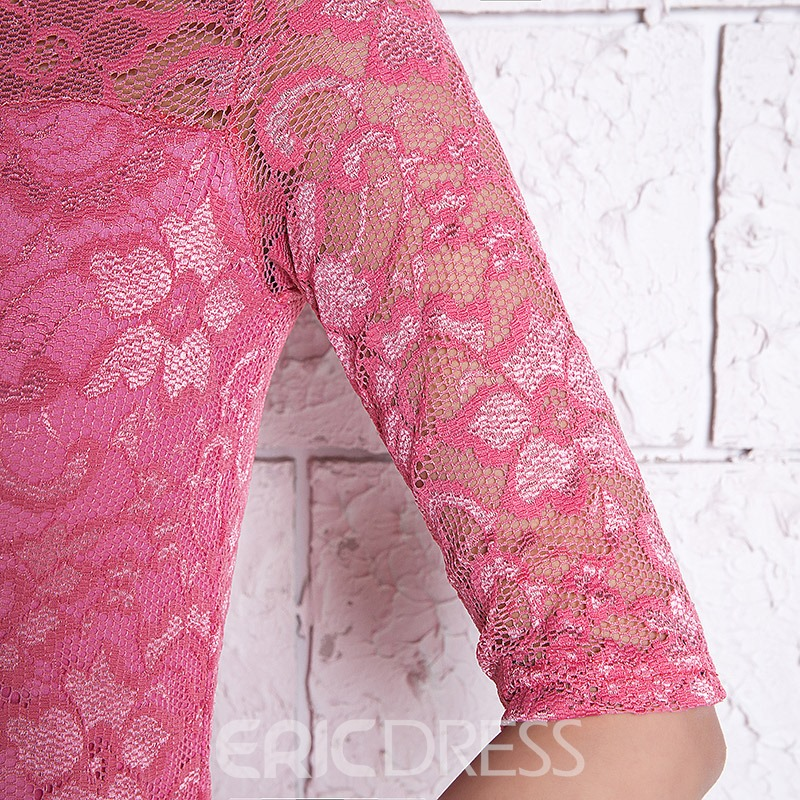 Ericdress Lace Column Short Homecoming Dress