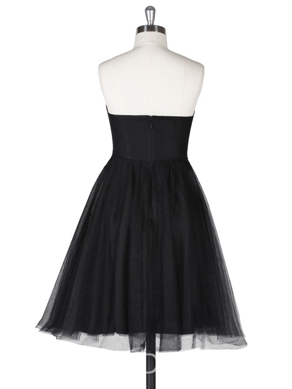 Ericdress A-Line Sweetheart Lace Short Cocktail Dress
